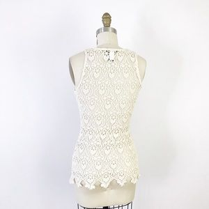 Hot Topic Tops - Lace Ribcage Tank Top Sheer Halloween Macabre F824